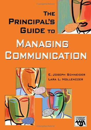 Principal's Guide to Managing Communication   2006 edition cover