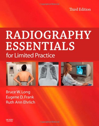 Radiography Essentials for Limited Practice  3rd 2010 edition cover