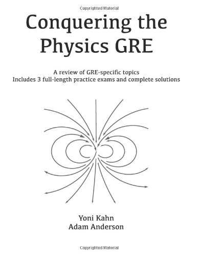 Conquering the Physics GRE  N/A edition cover