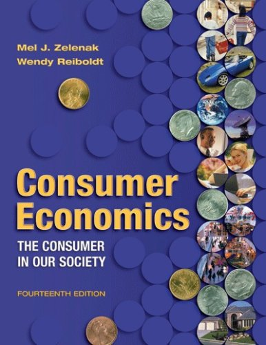 Consumer Economics : The Consumer in Our Society 14th 2006 edition cover