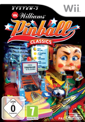 Williams Pinball Classics Nintendo Wii artwork