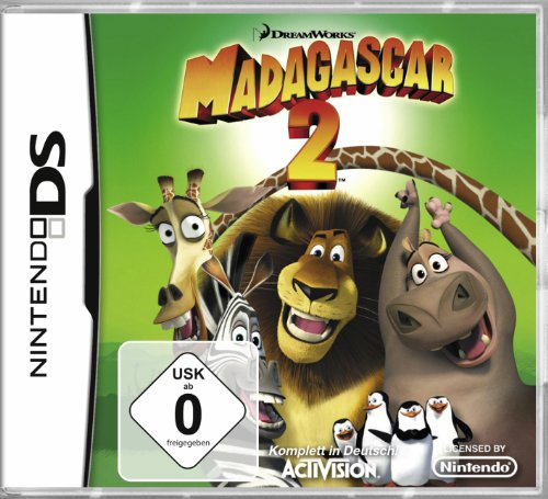 Madagascar 2 [Software Pyramide] Nintendo DS artwork