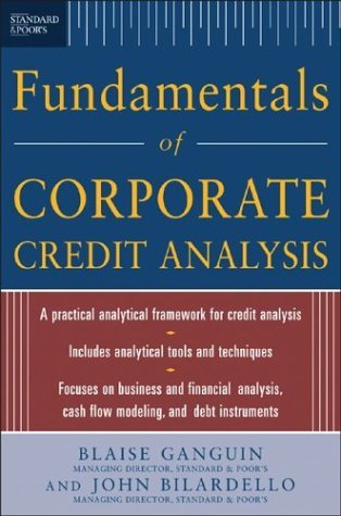 Fundamentals of Corporate Credit Analysis   2005 9780071441636 Front Cover