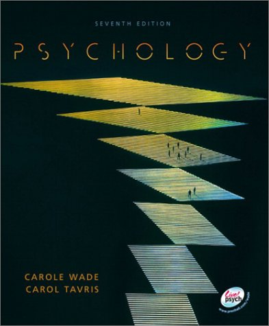 Psychology  7th 2003 9780130982636 Front Cover