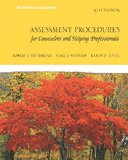 Assessment Procedures for Counselors and Helping Professionals  8th 2016 9780132850636 Front Cover