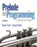 Prelude to Programming  6th 2015 edition cover