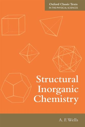 Structural Inorganic Chemistry  5th 2012 9780199657636 Front Cover