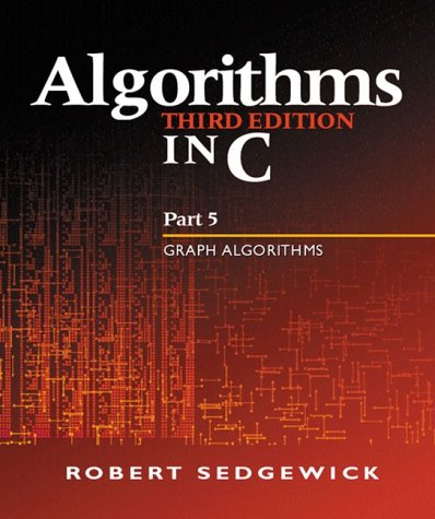 Algorithms in C Graph Algorithms 3rd 2002 (Revised) edition cover