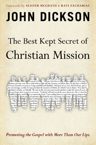 Best Kept Secret of Christian Mission Promoting the Gospel with More Than Our Lips  2009 edition cover