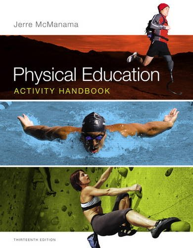 Physical Education Activity Handbook  13th 2014 9780321883636 Front Cover