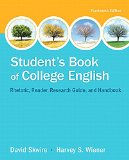 Student's Book of College English: Rhetoric, Reader, Research Guide and Handbook  2015 edition cover