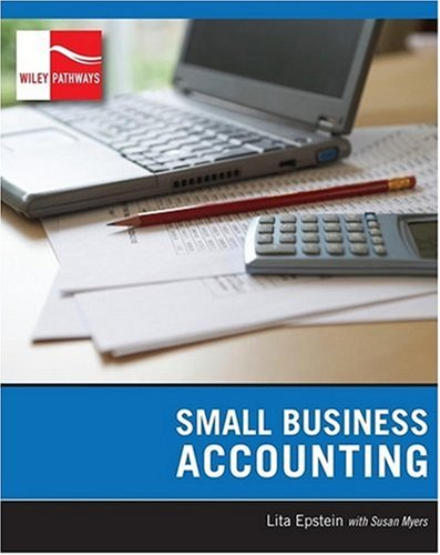 Wiley Pathways Small Business Accounting   2009 edition cover