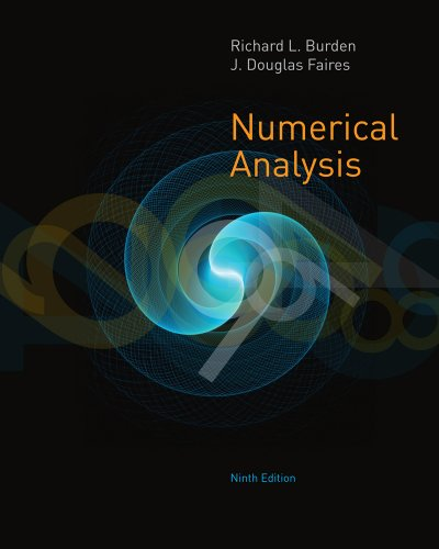 Student Solutions Manual with Study Guide for Burden/Faires' Numerical Analysis  9th 2011 edition cover