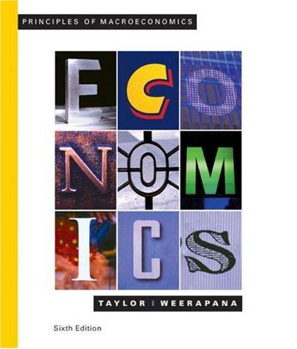 Principles of Macroeconomics  6th 2009 edition cover