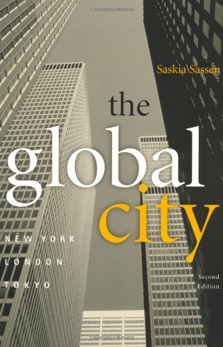 Global City New York, London, Tokyo  2002 (Revised) edition cover