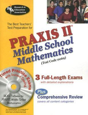 Best Teachers' Test Preparation for the Praxis II Middle Shcool Mathematics Test  N/A 9780738603636 Front Cover