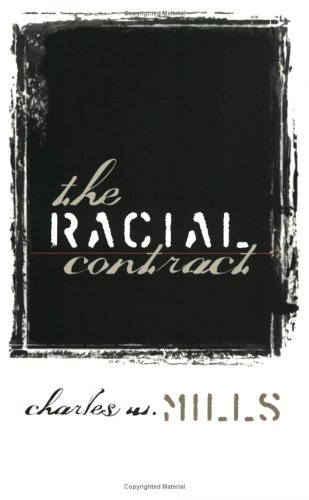 Racial Contract   1999 edition cover