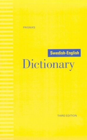 Swedish-English Dictionary  3rd 1995 (Revised) edition cover