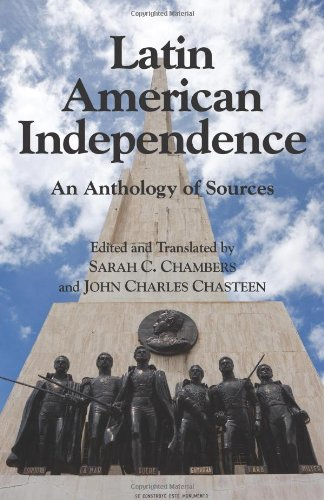 Latin American Independence An Anthology of Sources  2009 edition cover
