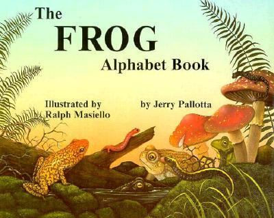 Frog Alphabet Book  N/A 9780881064636 Front Cover