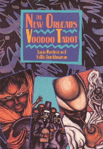 New Orleans Voodoo Tarot  N/A 9780892813636 Front Cover