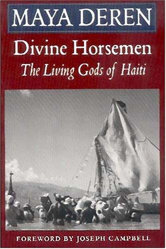 Divine Horsemen The Living Gods of Haiti Reprint edition cover
