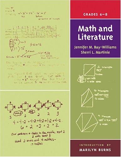 Math and Literature, Grades 6-8   2004 edition cover