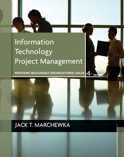 Information Technology Project Management  4th 2012 edition cover