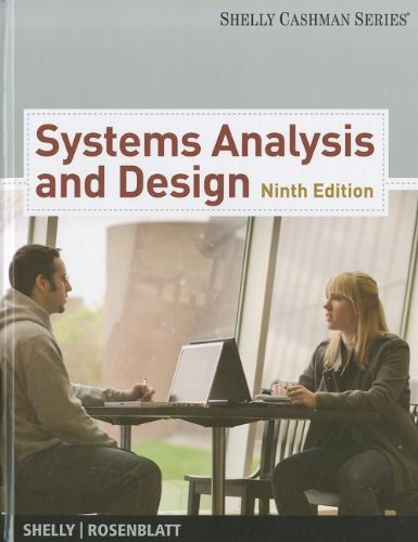 Systems Analysis and Design  9th 2012 edition cover