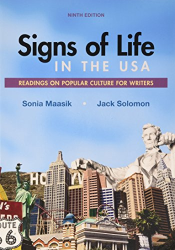 Signs of Life in the USA: Readings on Popular Culture for Writers 9th 2017 9781319056636 Front Cover
