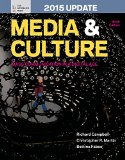 Media and Culture With 2015 Update:  9th 2014 9781457679636 Front Cover