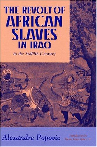 Revolt du Esclaves en Iraq au III/IX Eme Siecle   1998 edition cover