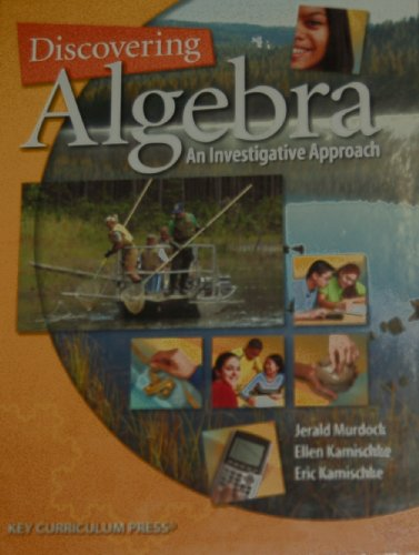 Discovering Algebra An Investigative Approach 2nd 2006 edition cover