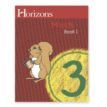 Horizons Mathematics 3  Student Manual, Study Guide, etc. edition cover