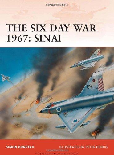 Six Day War 1967 - Sinai   2009 edition cover