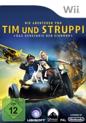 Die Abenteuer von Tim & Struppi - Das Geheimnis der Einhorn: Das Spiel Nintendo Wii artwork