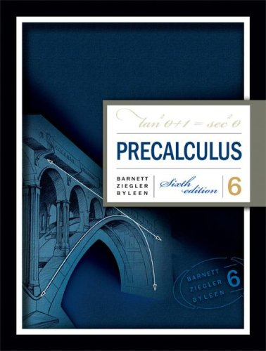 Precalculus  6th 2008 9780073312637 Front Cover