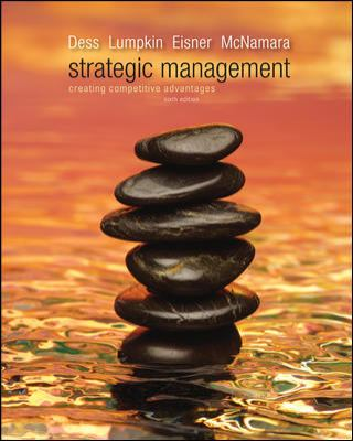 Loose-Leaf Strategic Management: Creating Competitive Advantages  6th 2012 edition cover