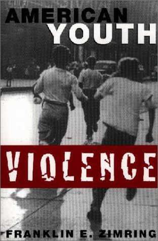 American Youth Violence   2000 9780195140637 Front Cover