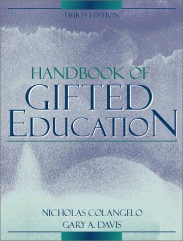 Handbook of Gifted Education  3rd 2003 (Revised) edition cover