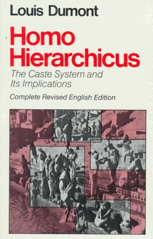 Homo Hierarchicus The Caste System and Its Implications 2nd 1980 (Revised) edition cover