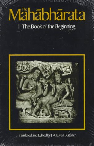 Mahabharata The Book of the Beginning  1983 edition cover