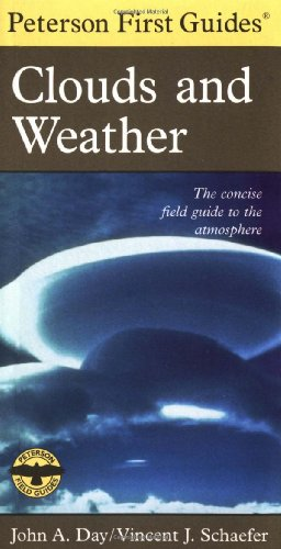 Peterson First Guide to Clouds and Weather  2nd 1998 edition cover