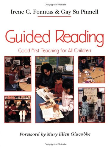 Guided Reading Good First Teaching for All Children  1996 9780435088637 Front Cover