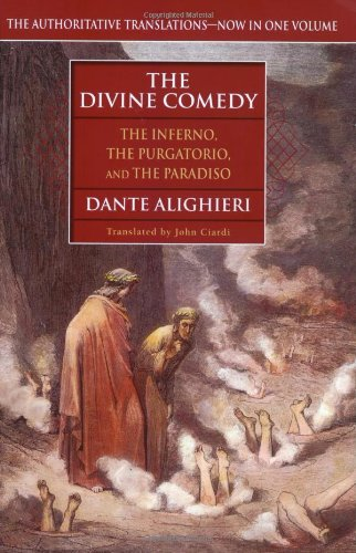 Divine Comedy The Inferno, the Purgatorio and the Paradiso  2003 9780451208637 Front Cover