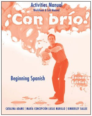 �Con Br�o! Beginning Spanish 2nd 2010 9780470500637 Front Cover