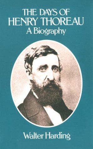Days of Henry Thoreau A Biography  1982 (Reprint) edition cover