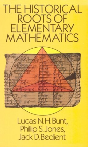 Historical Roots of Elementary Mathematics   1988 (Reprint) edition cover