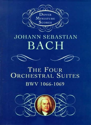 Four Orchestral Suites BWV 1066-1069 N/A 9780486408637 Front Cover