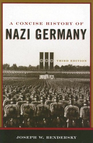 Concise History of Nazi Germany  3rd 2006 edition cover